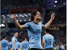 World Cup 2018 Uruguay keep it clean as Edinson Cavani