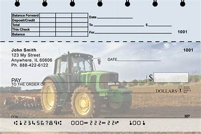 Checks Tractor Tractors Stub Classic Farms Personal