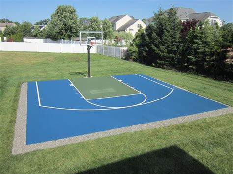 How Much Does A Backyard Basketball Court Cost by Best Backyard Basketball Court