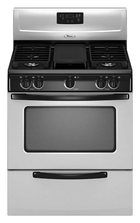 whirlpool wfglvs   gas freestanding range  sealed burner cooktop  cu ft