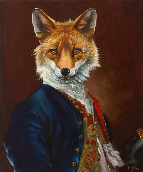 monsieur goupil animaux habillés animaux de la