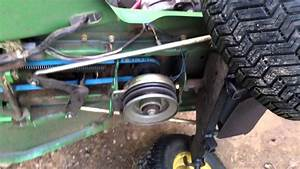 John Deere Stx 38 Belt Routing