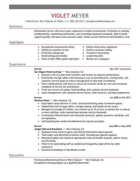 Objectives For Resumes For Hospitality Industry by Resume For Hotel Industry Birthdayessay X Fc2