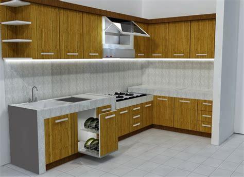 Kitchen Set by 40 Desain Kitchen Set Minimalis Dan Harga Terbaru