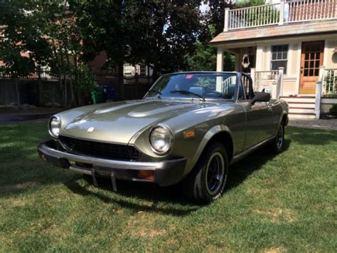 1980 Fiat Spider For Sale by Fiat Other Convertible 1980 Metallic Green For Sale