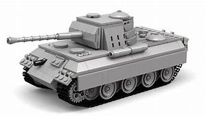 Lego Wwii Panther Tank  Updated  Instructions   Parts List