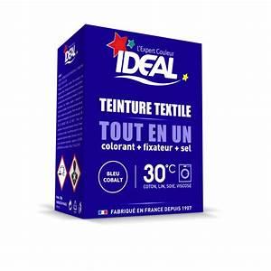 Teinture Ideal Tout En Un : teinture textile en poudre ideal tout en un bleu cobalt ~ Dailycaller-alerts.com Idées de Décoration