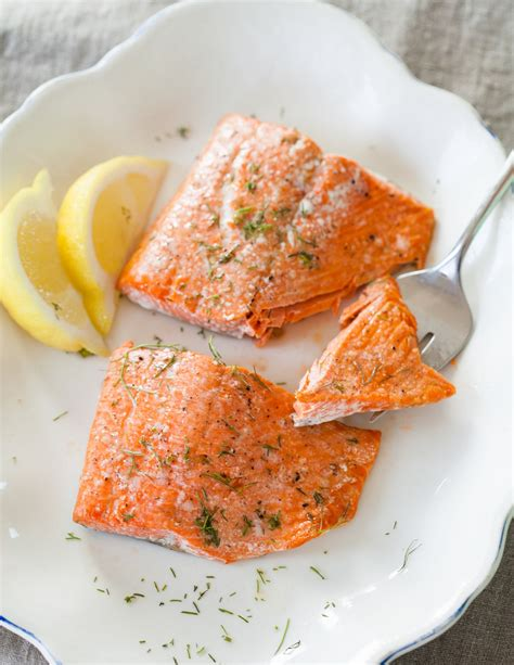 cooking salmon in oven how to cook salmon in the oven cooking lessons from the kitchn the kitchn