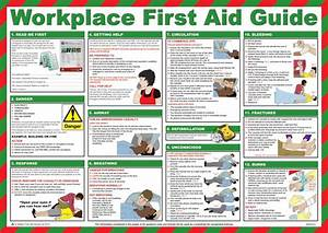 First Aid Workplace Guide Poster