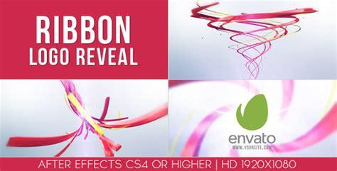ribbon logo reveal 3d object cengizgoren com