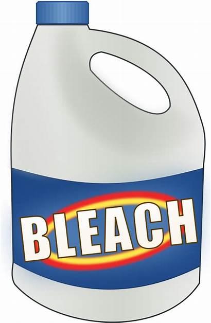 Bleach Clipart Clorox Bottle Comparable Clip Water