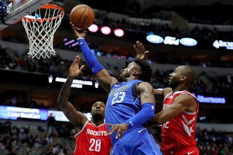 17-18 #100 : Houston Rockets vs Dallas Mavericks - DD ...