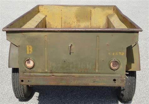 original unrestored wwii jeep trailer 1943 willys mbt g503 vehicle message