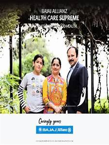 Pdf Bajaj Allianz Health Care Supreme Brochure Pdf