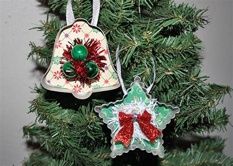 vintage cookie cutter christmas ornament tutorial
