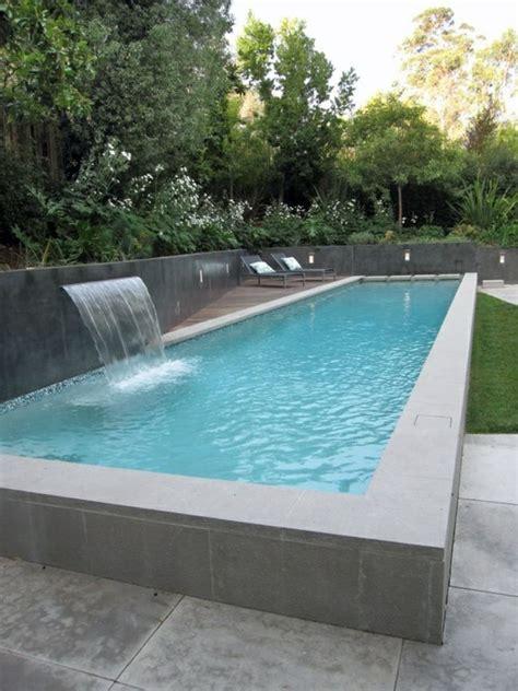 Pool Im Garten by Pool Garten Freistehend Spezifische Form Wasserspiele
