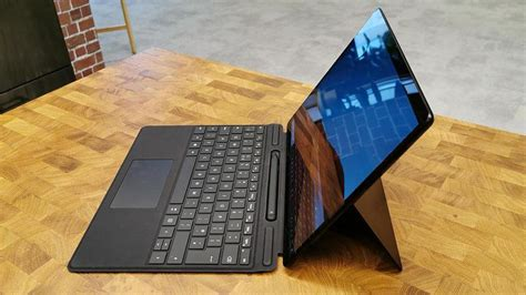 microsoft surface pro  review hands    arm