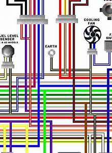Kawasaki Gpz500s    Er5 Colour Electrical Wiring Diagrams