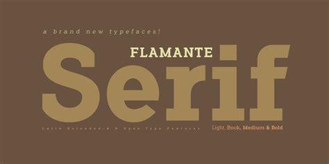 Flamante Serif Bold Font - FontSpace