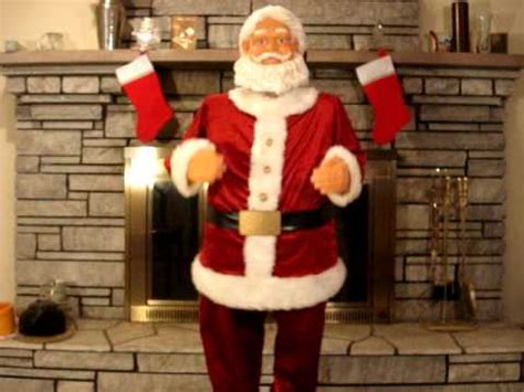 santa claus sings dances ebay item  youtube