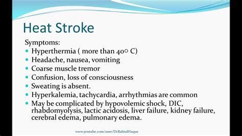 Hypothermia and Hyperthermia