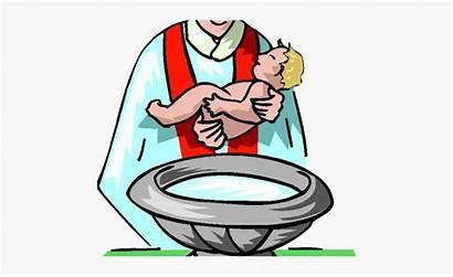 Baptism Child Clipart Being Birth Baptised Cartoon