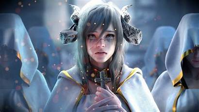 Demon Fantasy Priest Wallpapers 1080 Choi Jay