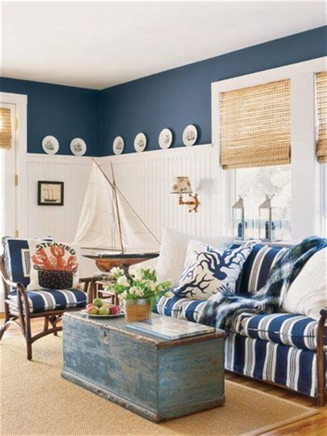 diy nautical  interior design  living room