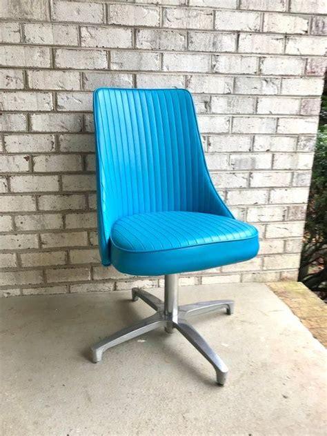 mid century modern swivel chair chromcraft modern