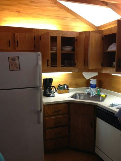 wilderness cabins fort kitchen tour complete november