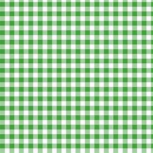 Christmas green gingham fabric - weavingmajor - Spoonflower