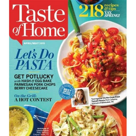 77699 Food Magazine Subscription Discount Code by Taste Of Home Magazine Subscription 3 39