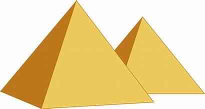 Pyramid Pyramids Egypt Clipart Background Transparent Egyptian