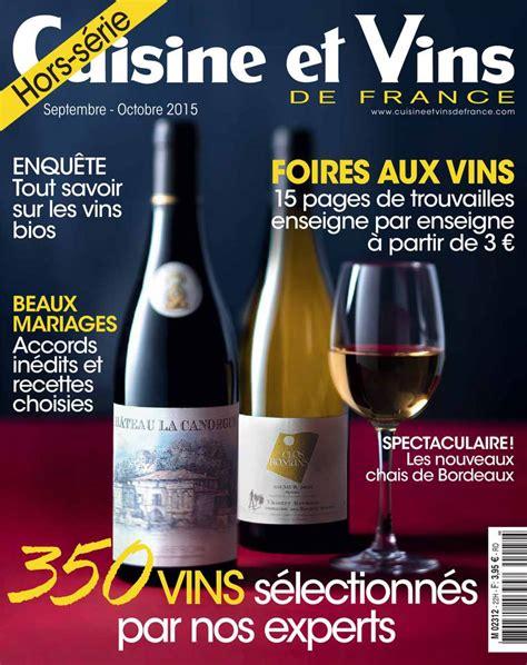 cuisine et vins de abonnement abonnement cuisine et vins de hors série pas cher