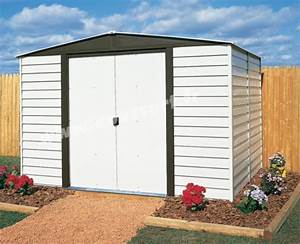 Abri De Jardin Arrow : abri de jardin arrow vd106 acier galvanise peinture vinyle ~ Dailycaller-alerts.com Idées de Décoration