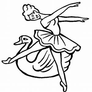 Swan Lake coloring page | SuperColoring.com