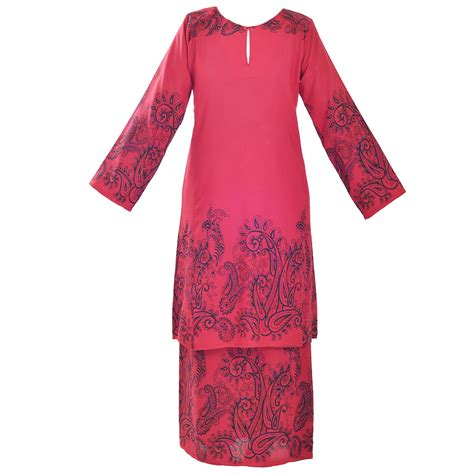 Buy baju kurung and other exclusively designed muslimah fashion from poplook.com. Collection of Contoh Baju Kurung Moden   22 Baju Kurung Modern Cantik Terbaru 2020 Elegan Mewah ...