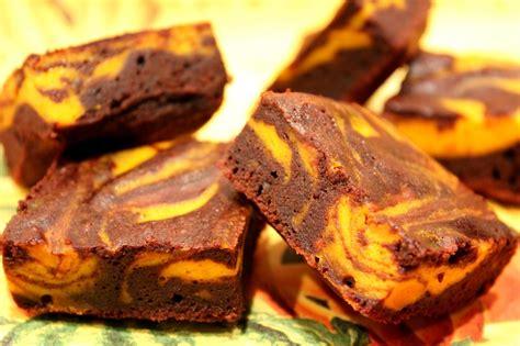 cuisiner un potiron brownies marbrés au chocolat et potiron pour ceux qui
