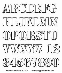 25 best ideas about alphabet letters to print on With letter and number stencils