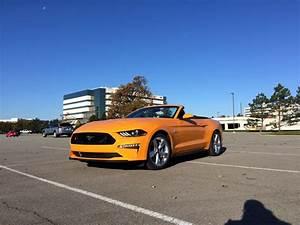 2018 Orange Fury : Mustang