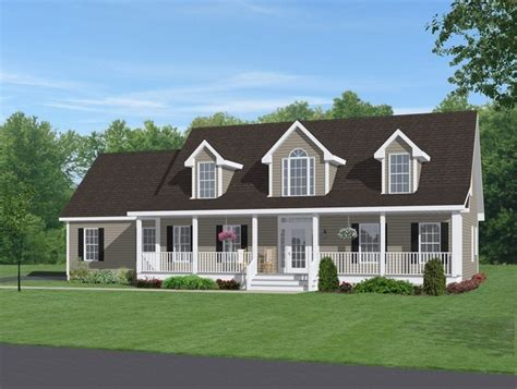 idea  adding  full front porch  larger  story  bump  addition   small