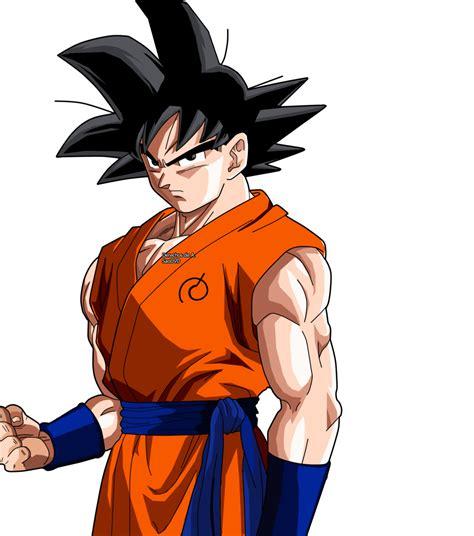 Goku Images Goku By Conzibar On Deviantart
