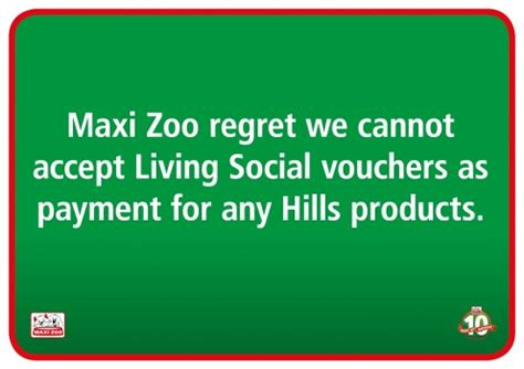 maxi zoo siege social living social vouchers products at maxi zoo