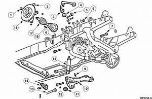 Diagram Front Suspension Ford Expedition