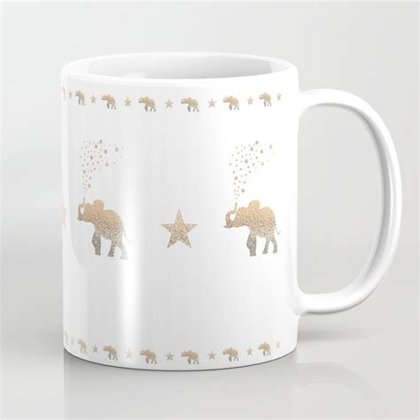 Buy elephant mug and get the best deals at the lowest prices on ebay! GOLD ELEPHANT Coffee Mug by monikastrigel | Society6