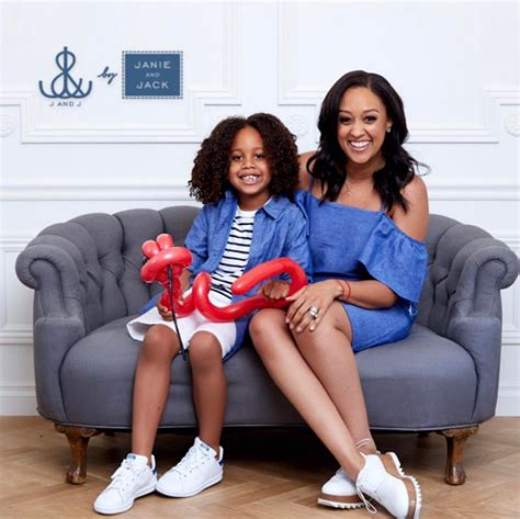 Janie And Jack Tia Mowry And Son Promote New 39 Janie And Jack 39 Women 39 S Line