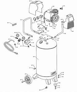 Craftsman Portable Air Compressor 921 164710 Repair Parts