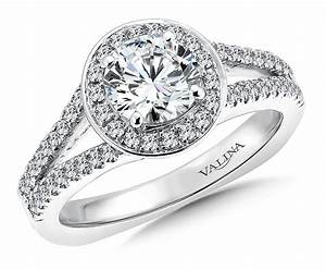 shira diamonds round cut halo diamond ring engagement With circular wedding rings