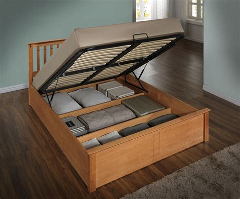 Ottoman Bed by Harmony Beds Kensington 5ft Kingsize Wooden Ottoman Bed