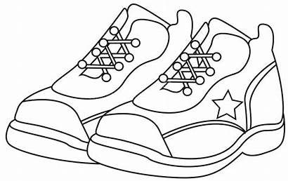 Coloring Shoes Running Nike Pages Cartoon Sports
